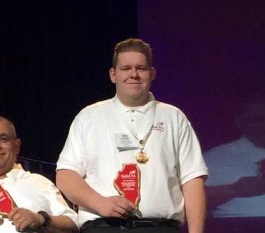Erik Ioerger Competes in SkillsUSA National Leadership & Skills Conference, Metamora Herald