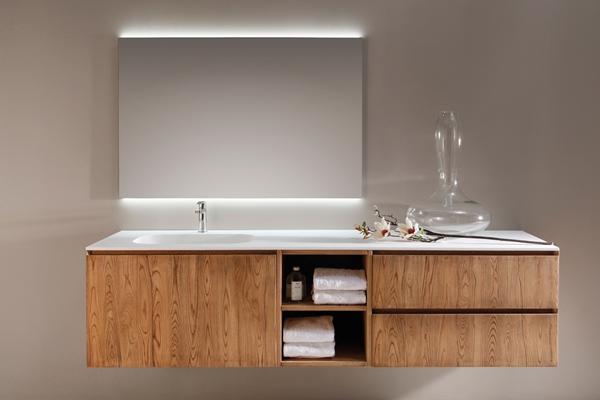 Espacios en madera - Muebles para bano en madera ...