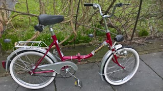 Stolen Bicycle - Eska Folder (Folding Bike)