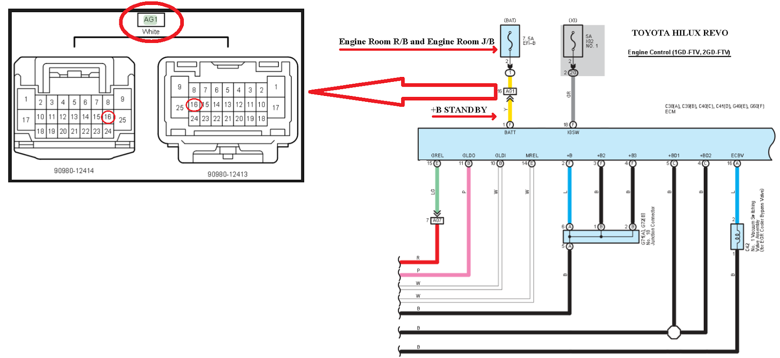 medium resolution of toyota hilux revo wiring wiring diagram nametoyota hilux revo wiring engine hilux revo ecm power source