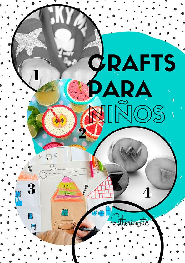 crafts manualidades con niños