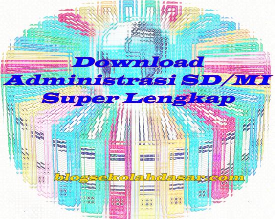 Download Administrasi Kelas Lengkap