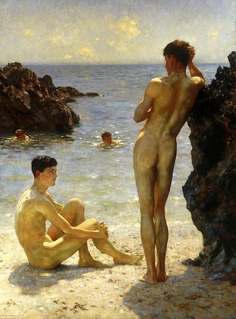 Henry Scott Tuke: Gli amanti del sole