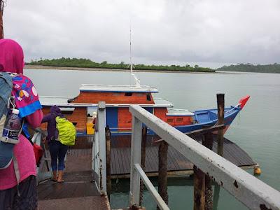 Kapal Menuju Pulau Labun