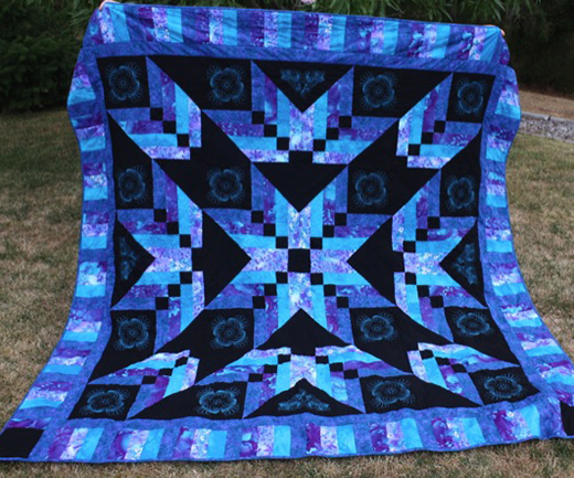 Binding Tool Star Quilt Designed by Shisha, The Tutorial by Jenny Doan of Missouri Star Quilt Co