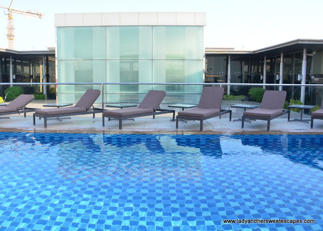 Centro Barsha rooftop pool