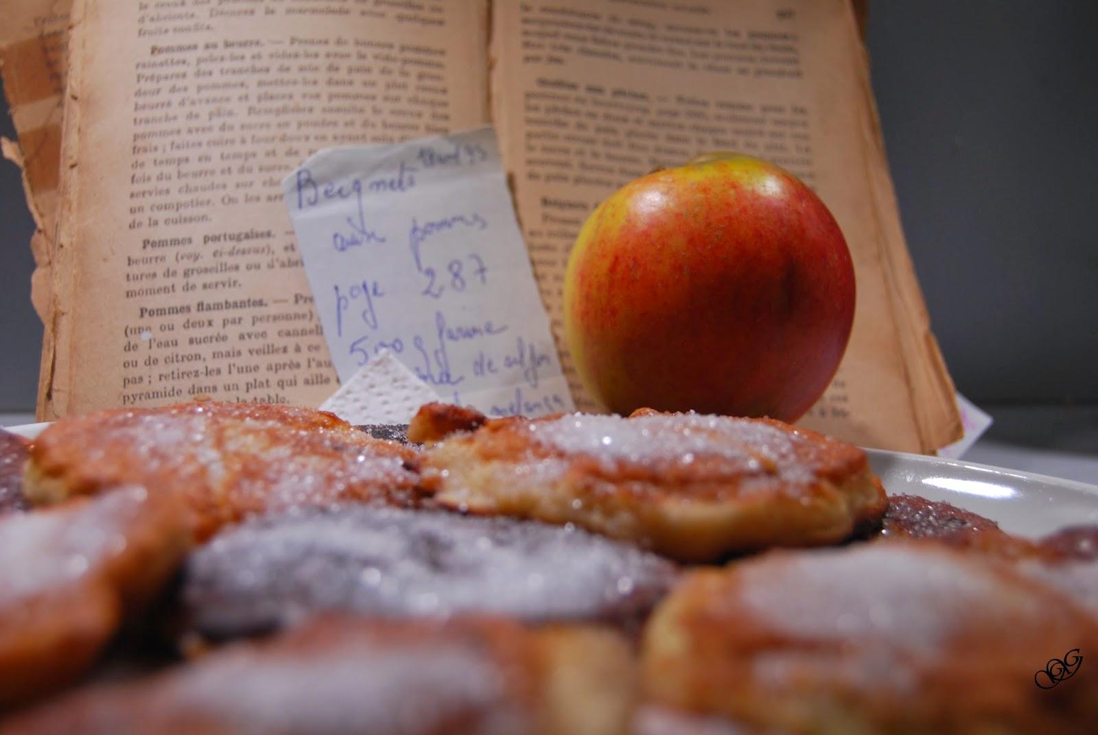 Beignets aus pommes