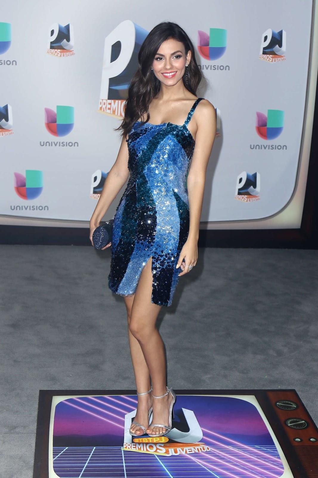 Victoria Justice – Univision's Premios Juventud in Miami