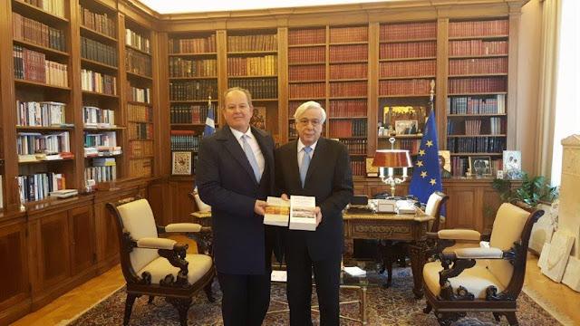 ΑΡΤΑ-Συνάντηση του δημάρχου Ν.Σκουφά με τον Πρόεδρο της Δημοκρατίας