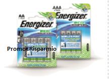 Logo Buono sconto da 1 euro Pile Energizer