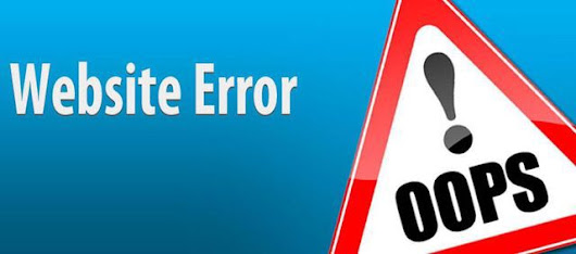 website troubleshooting untuk error