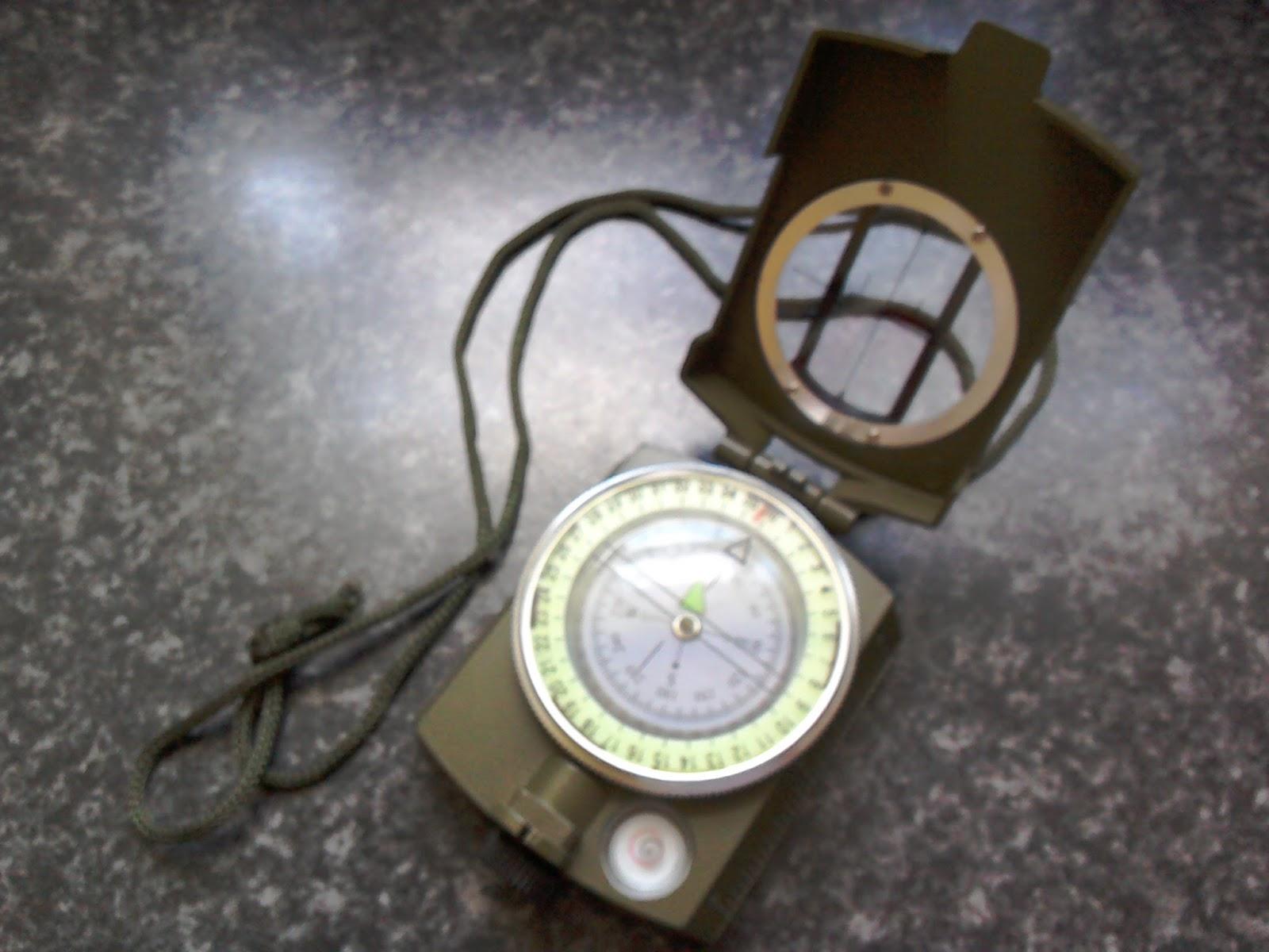 Kasper /& Richter Meridian PRO Sighting Compass