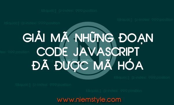 Niemstyle | Web giúp giải mã code