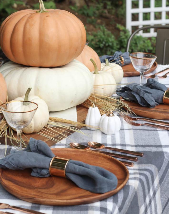 decorar la mesa en hallowen