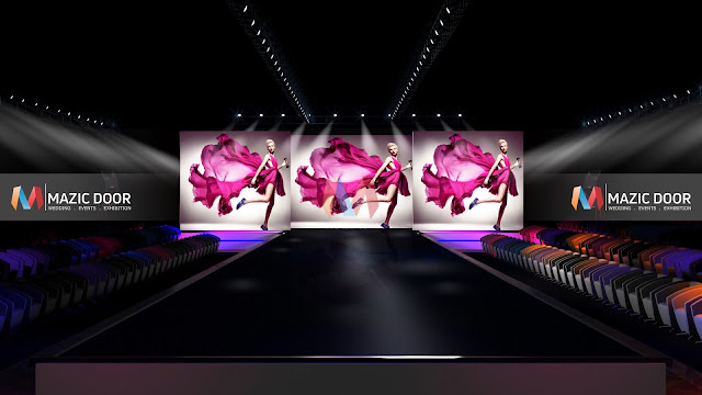 MazicDoor Fashion Show Stage Design 1
