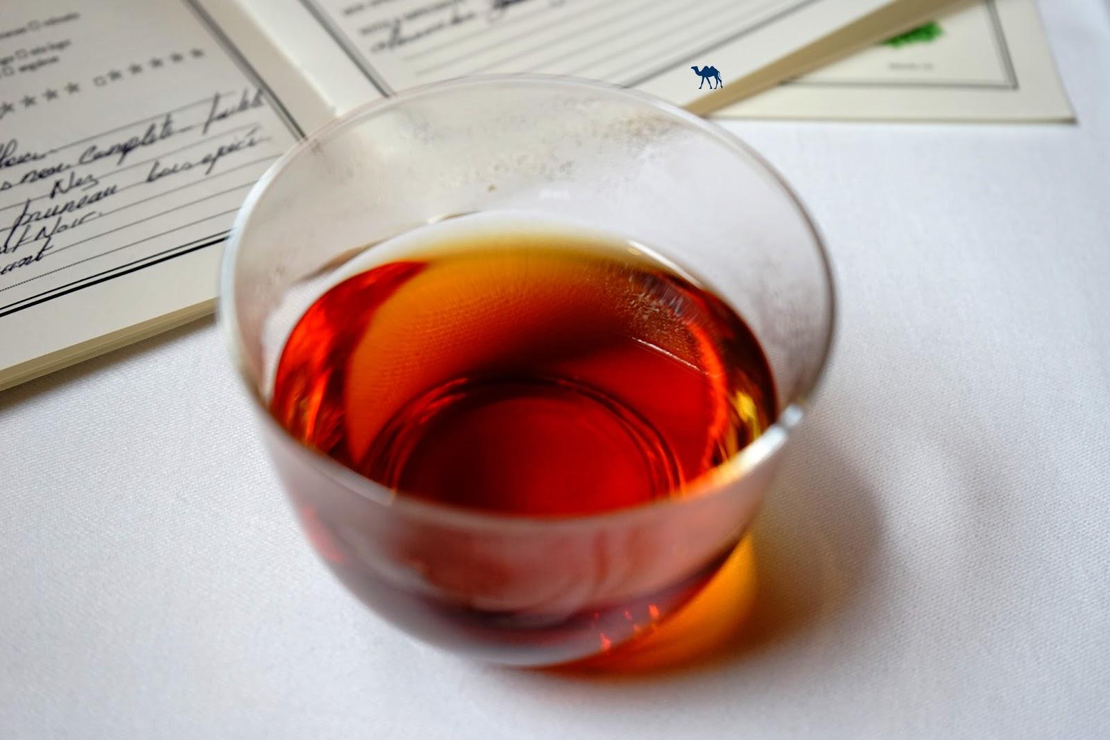 Le Chameau Bleu - Initiation et dégustation de thé Mariage Frère Paris tea House