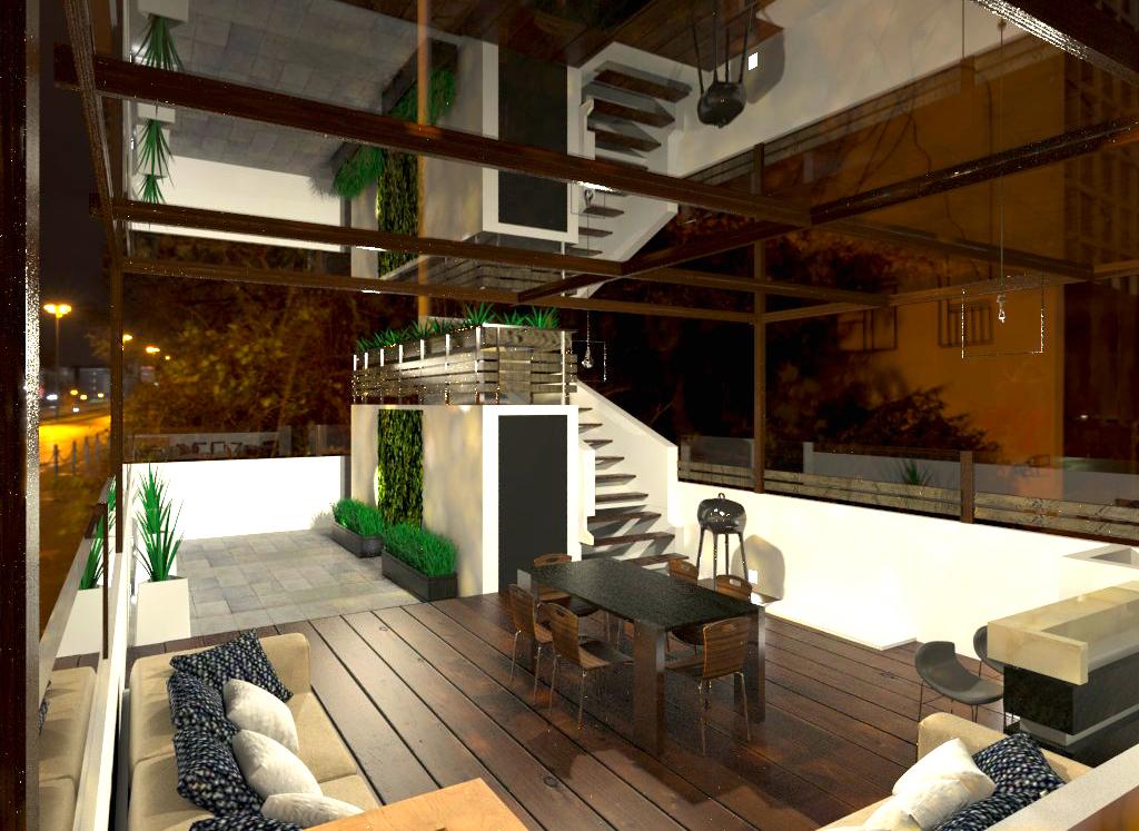 Roof garden ideas y dise o col lamos m xico df for Diseno de interiores mexico