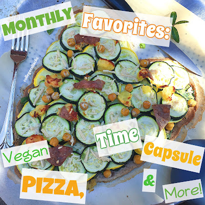 #GlutenFree Monthly Favorites: Vegan Pizza, Opening a Time Capsule & More!