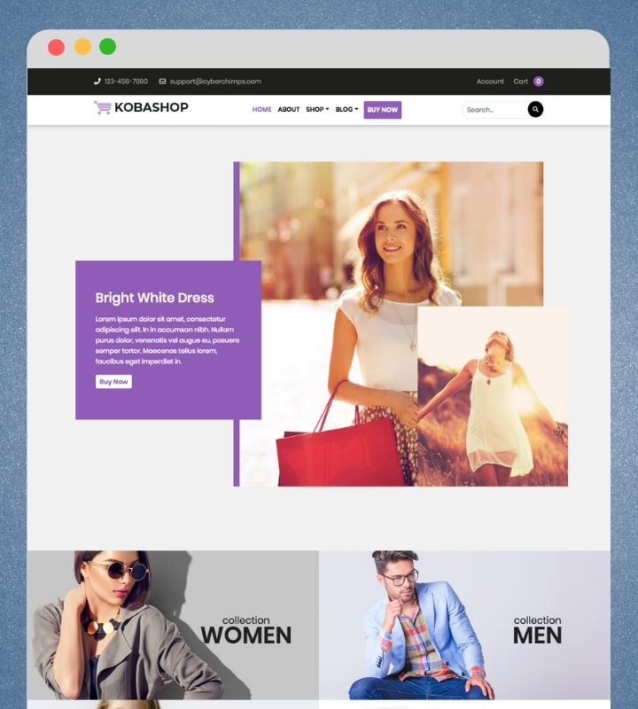Kobashop (Best WooCommerce WordPress Theme)