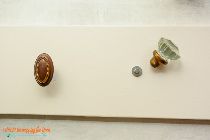 Door Knob Towel Bar