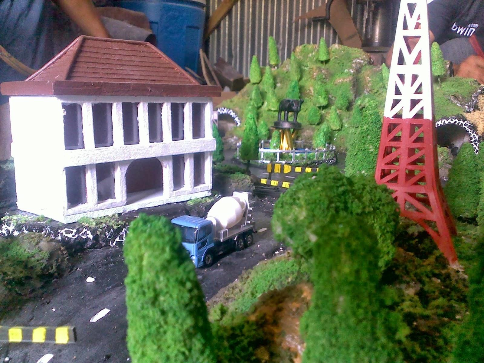 Jasa Pembuatan Diorama Jakarta