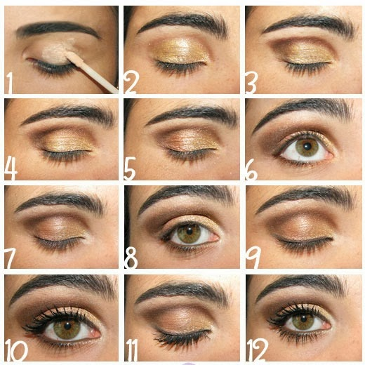Favoloso Mondo Donna: TUTORIAL TRUCCO OCCHI MARRONE PL71