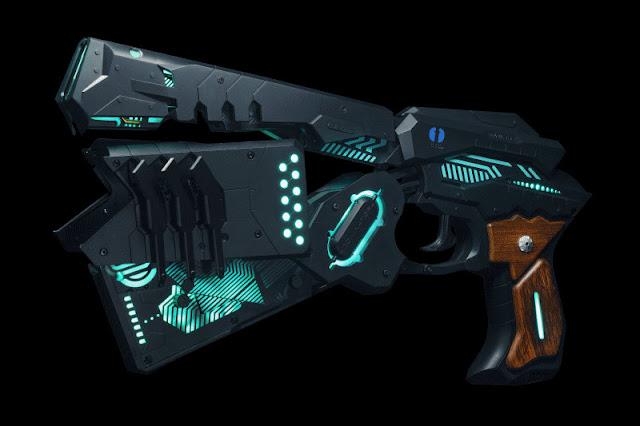 Dominator z Cerevo - broń z Psycho Pass