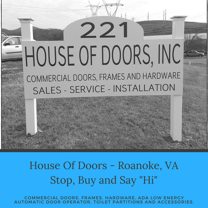 & House of Doors - Roanoke VA Stop buy and say