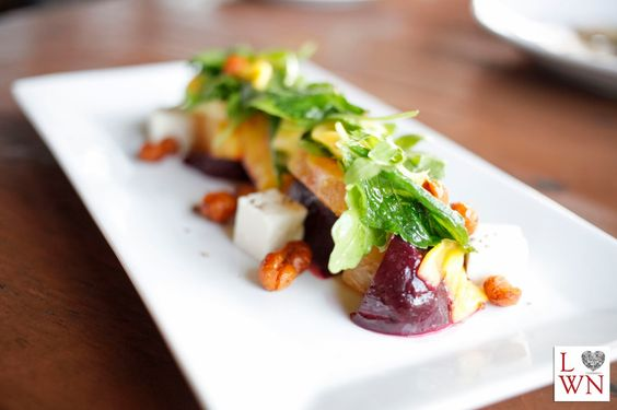 The Roasted Beet Salad at Flying Iguana