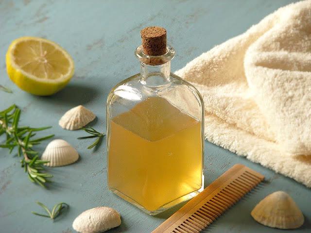 soin naturel pour les cheveux au citron