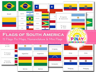 Flags of South America