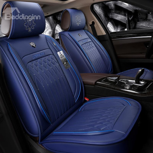 Beddinginn-Royal Style Best Material F-Series Ram Tacoma Sierra Silverado Colorado Etc Universal Truck Seat Covers