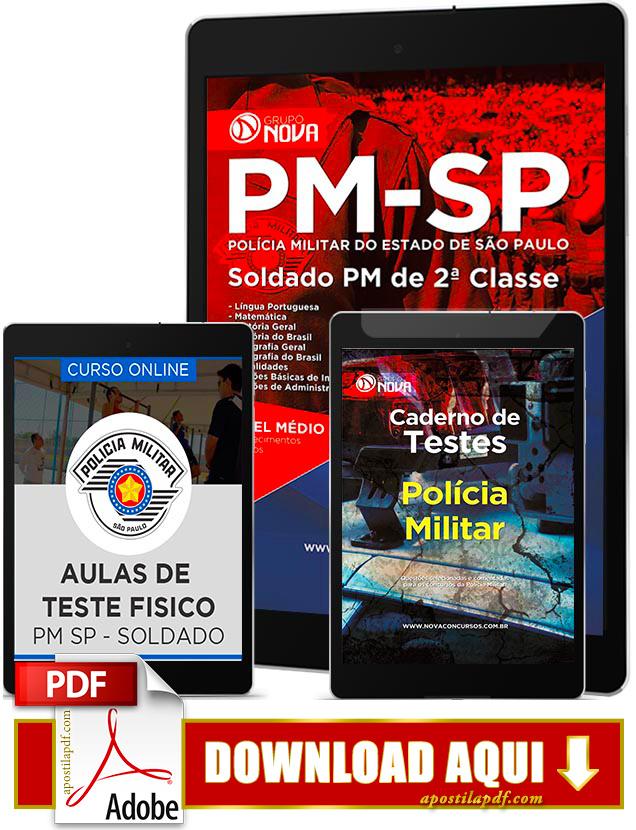 Apostila PM SP 2017 PDF Download Soldado Polícia Militar SP