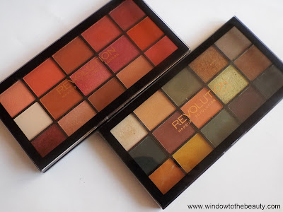 Makeup Revolution Palety Reloaded recenzja