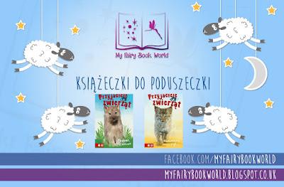 Książeczki do poduszeczki - Przyjaciele zwierząt