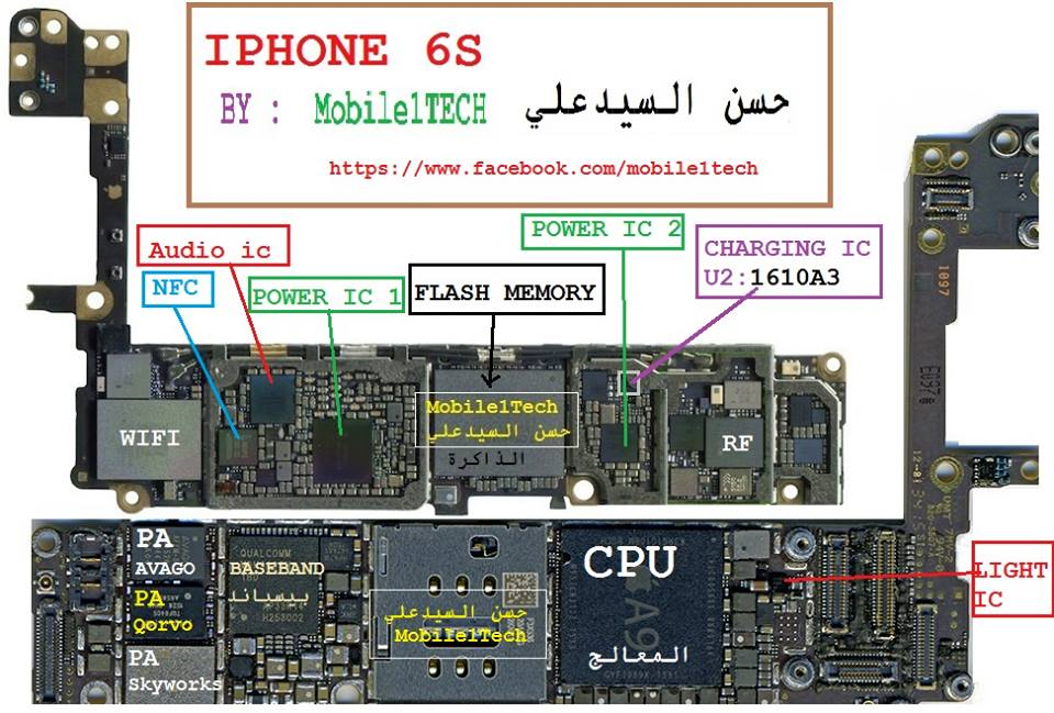 Iphone 6 All Schematic Diagram 100  Working Jumper