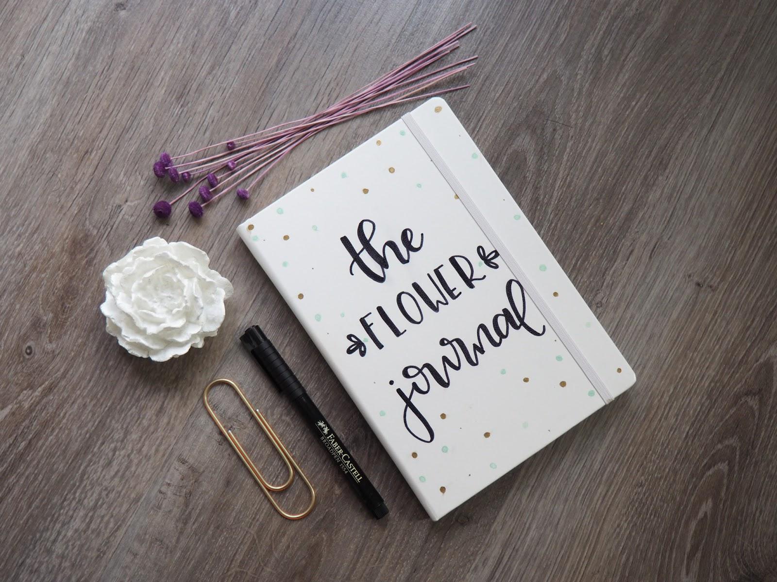 Decorar La Portada Del Bullet Journal The Flower Journal