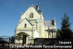 Троїцько-Успенська церква у Свіржі