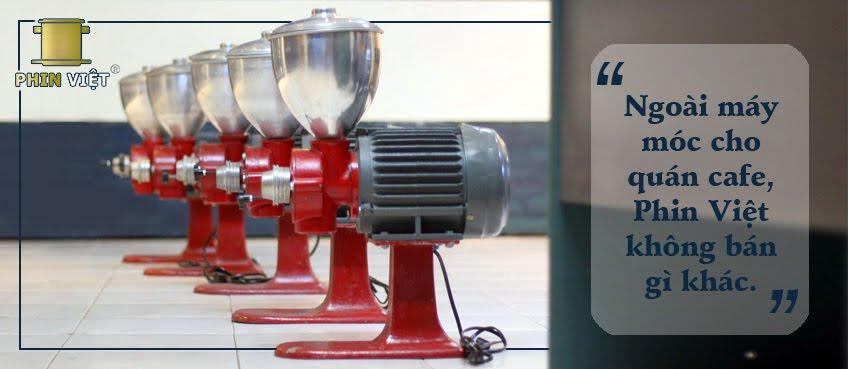 Máy xay cà phê bán công nghiệp