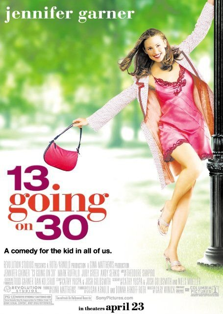 poster 13 Going on 30 2004 Full Movie Download Dual Audio 720p