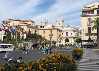 Piazza Tasso is Sorrento's main square