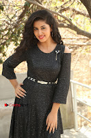 Telugu Actress Pavani Latest Pos in Black Short Dress at Smile Pictures Production No 1 Movie Opening  0277.JPG