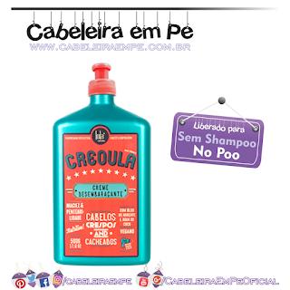 Creoula Creme Desembaraçante - Lola Cosmetics (No Poo)