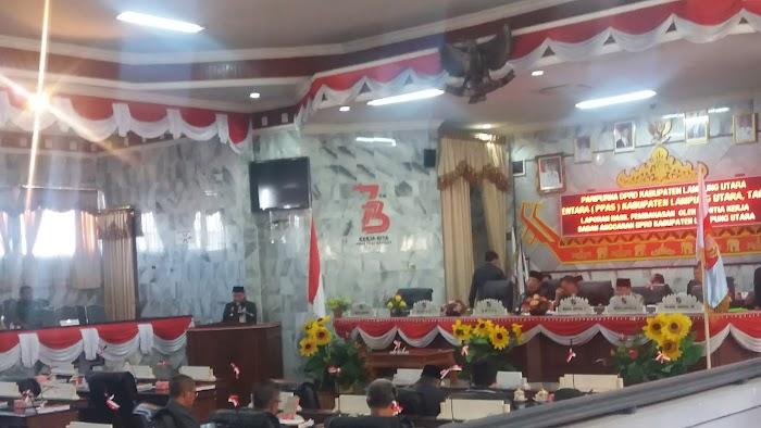 DPRD Tanda Tangani Kesepakatan Rancangan KUA-PPAS Tahun Anggaran 2019.