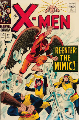 X-Men #27, the Mimic is back