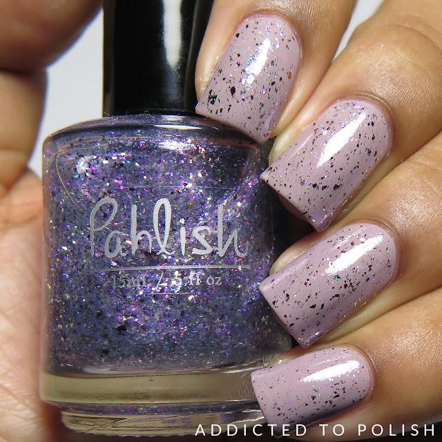 Pahlish Guimauve a la Violette Swatches Patisserie de Pahlish