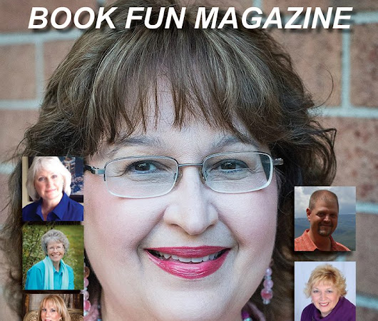 Carrie Fancett Pagels is on The BookFun Magazine Cover!