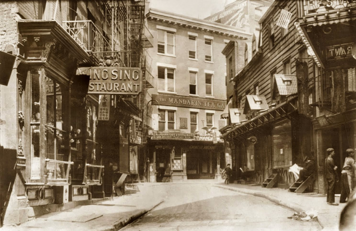 Old Photographs Of Daily Life In Manhattan S Chinatown