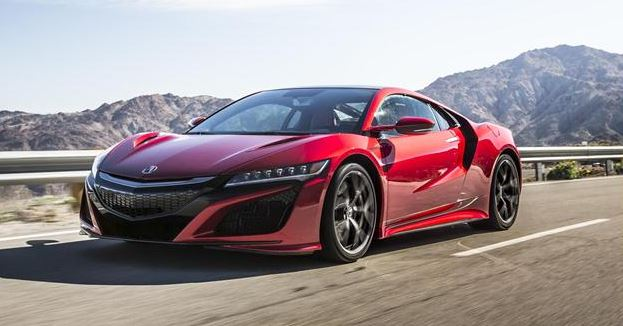 The Best Luxury Hybrid Cars : 2018 Acura NSX