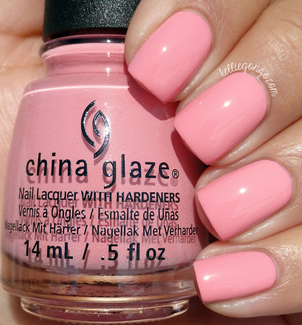 China Glaze Pink or Swim